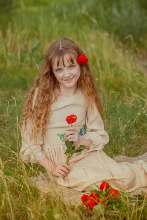 Анастасія, дитяча фотосесія