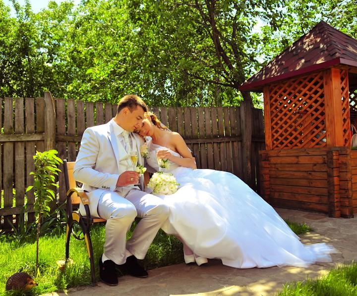 Олександр та Аліна, весільна фотосесія