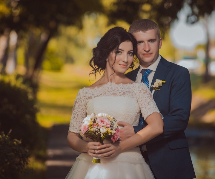 Андрій та Люда, весільна фотосесія